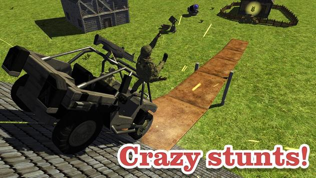 Guts and Wheels 3D apk screenshot