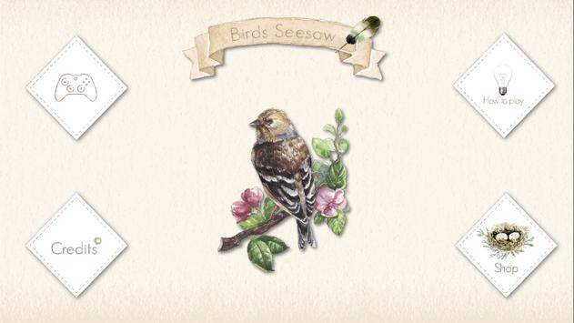 Birds Seesaw poster