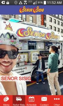 Señor Sisig SF poster