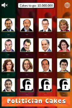 Politician Cakes España screenshot 1