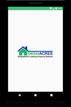 Deshacres: Bangladesh's No.1 Real Estate App poster