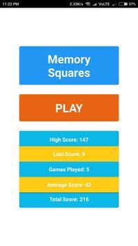 Memory Square poster