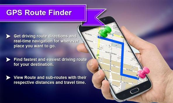 GPS Route Finder screenshot 1
