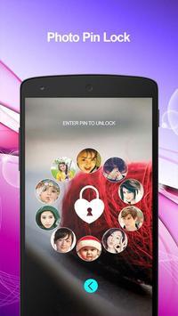 Photo Pin Lock Screen poster