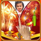 Diwali Zipper Lock Screen icon