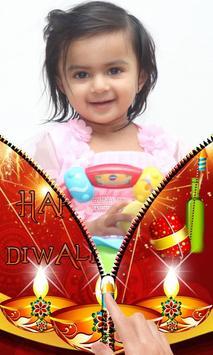 Diwali Zipper Lock Screen screenshot 4