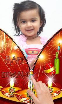 Diwali Zipper Lock Screen apk screenshot