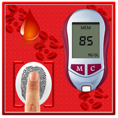 Finger Blood Sugar Test Prank icon