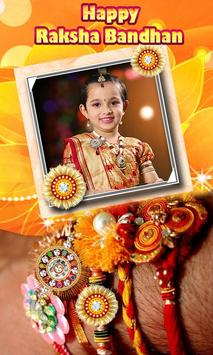 Happy Rakhi Photo Frames poster