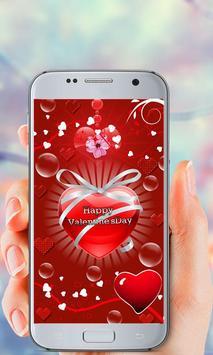 Valentine's Day Live Wallpaper screenshot 4