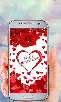 Valentine's Day Live Wallpaper screenshot 2