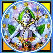 God Shiva Clock icon