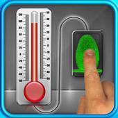 Finger Body Temperature Prank icon