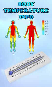 Body Temperature Info poster