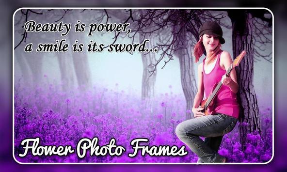 Flower Photo Frames screenshot 1