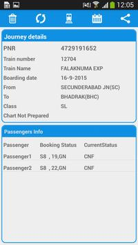Indian Rail Enquiry screenshot 4