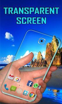 Transparent Screen poster