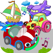 Cars & Vehicles Sound for Kids icon