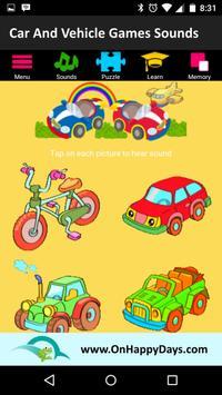 Cars & Vehicles Sound for Kids screenshot 3