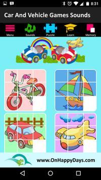 Cars & Vehicles Sound for Kids screenshot 4