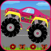 Monster Trucks For Girls:Match icon