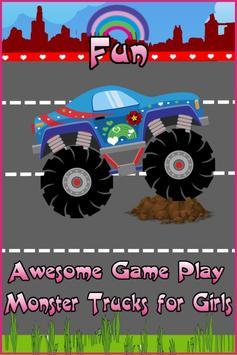Monster Trucks For Girls:Match screenshot 1