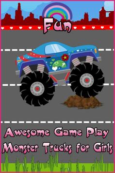 Monster Trucks For Girls:Match screenshot 7