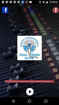 Rádio C. Novo Tempo 105,9 FM poster