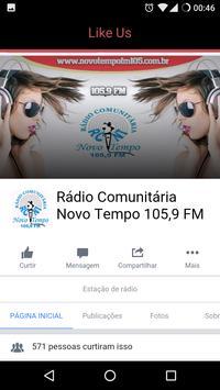 Rádio C. Novo Tempo 105,9 FM apk screenshot