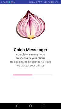 Onion Messenger plakat