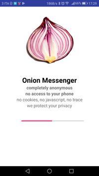 Onion Messenger captura de pantalla 16