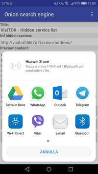 Onion Search Engine Widget screenshot 4
