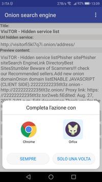 Onion Search Engine Widget screenshot 17