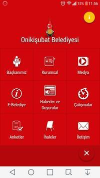 Onikişubat Belediyesi poster