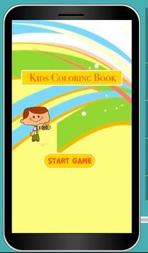 Coloring Cartoon Paint For Kid apk screenshot