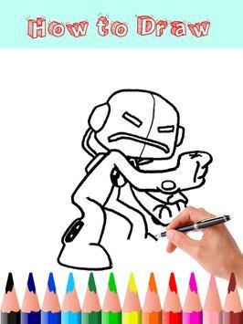How to Draw Ben 10 screenshot 5