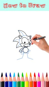 How to Draw Sonic screenshot 1