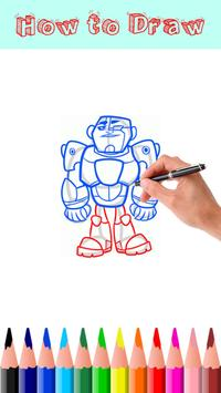 How to Draw Teen Titans Go screenshot 1
