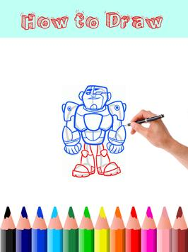 How to Draw Teen Titans Go screenshot 5