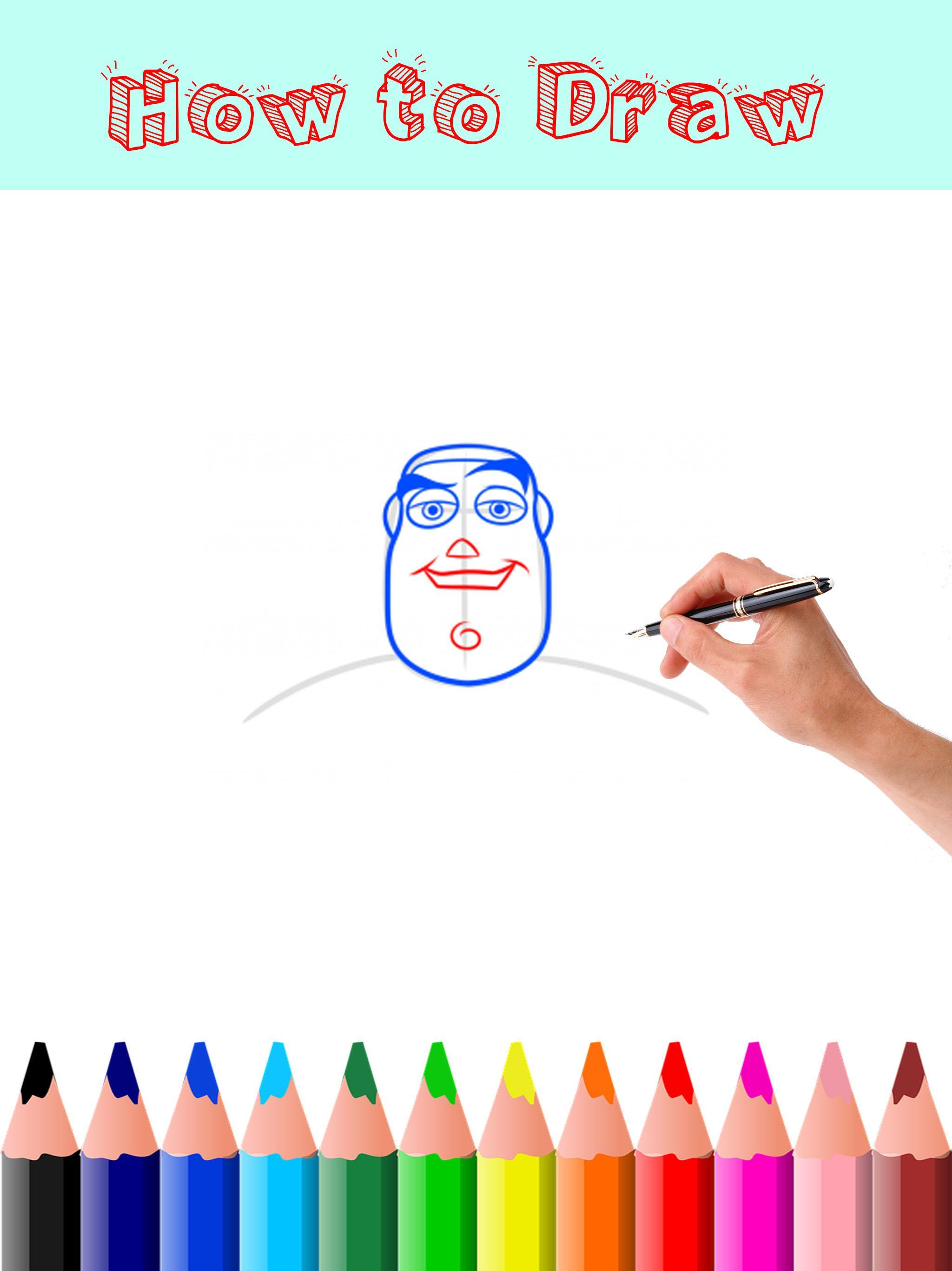 How to Draw Toy Story poster