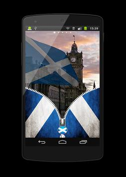 scotland Flag Lock Screen apk screenshot