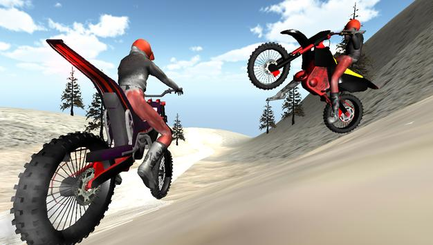 Winter Motocross Fun apk screenshot