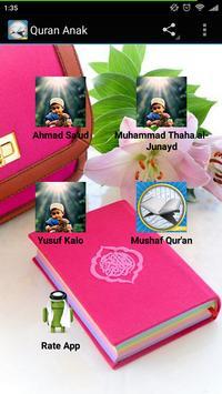 Quran Anak kids Mp3 is free. poster