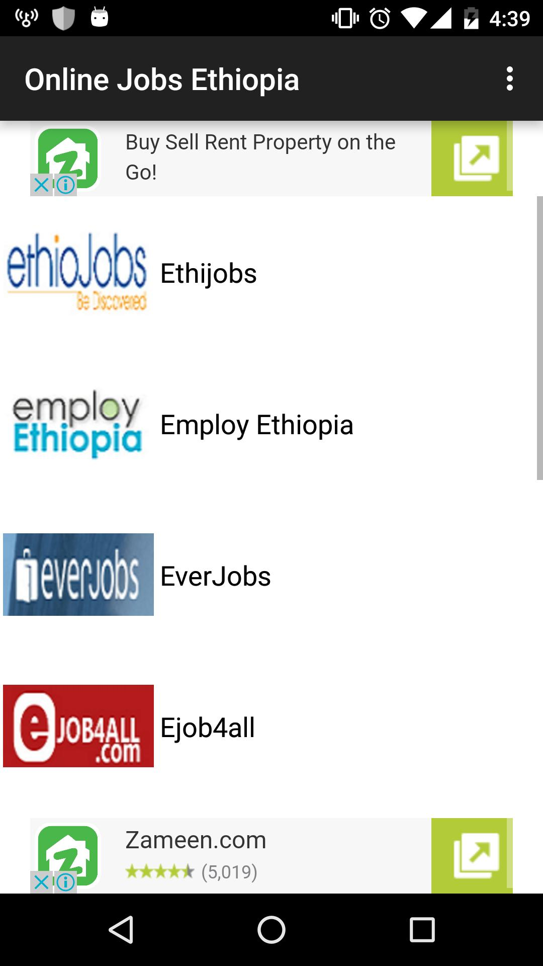Jobs In Ethiopia for Android - APK Download