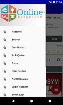 OnlineDershanem.com screenshot 3