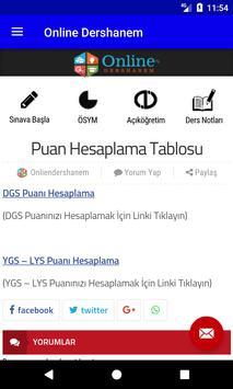 OnlineDershanem.com screenshot 4