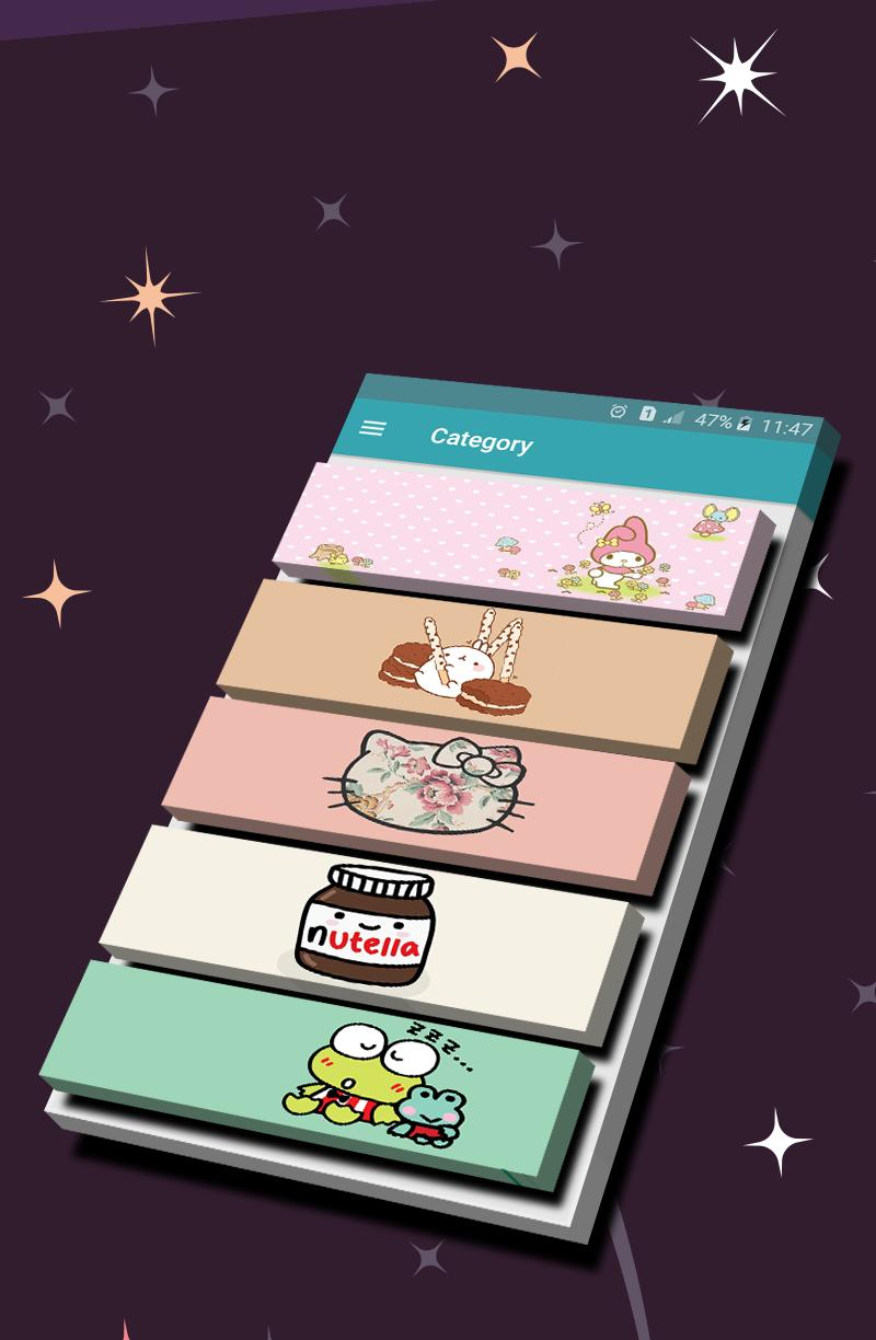 Wallpapers & Gifs For Sanrio poster