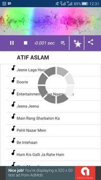Atif Aslam Song screenshot 3