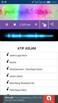 Atif Aslam Song screenshot 1