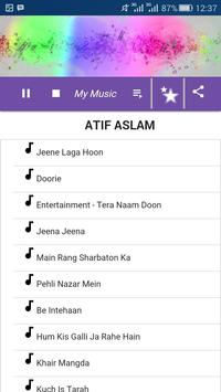 Atif Aslam Song screenshot 2